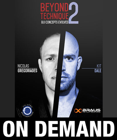 Beyond Technique 2 with Nic Gregoriades and Kit Dale (On Demand) - Budovideos