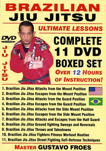 BJJ Ultimate Lessons 11 DVD Set by Gustavo Froes 7