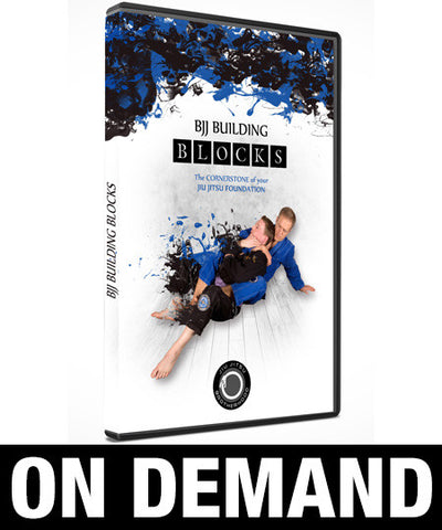 BJJ Building Blocks with Nic Gregoriades (On Demand) - Budovideos