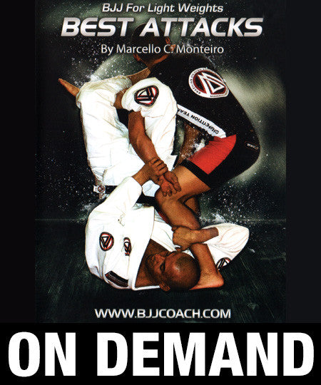 BJJ for Lightweights with Marcello Monteiro (On Demand)
