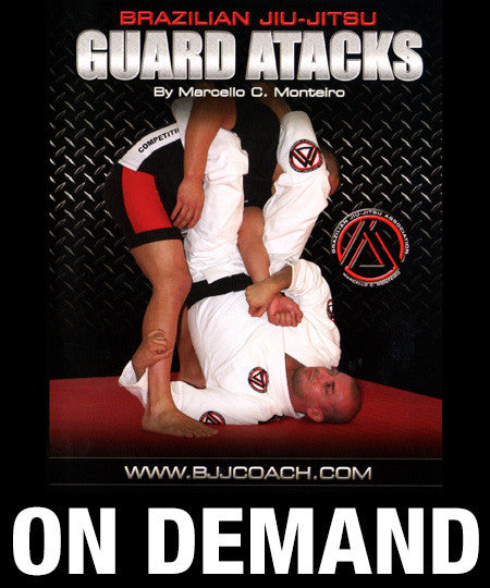 Guard Attacks with Marcello Monteiro (On Demand) - Budovideos