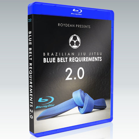 Blue Belt Requirements 2.0 w BONUS by Roy Dean DVD or BluRay