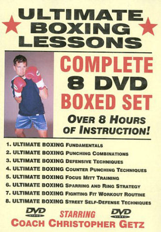 Ultimate Boxing 8 DVD Set with Chris Getz