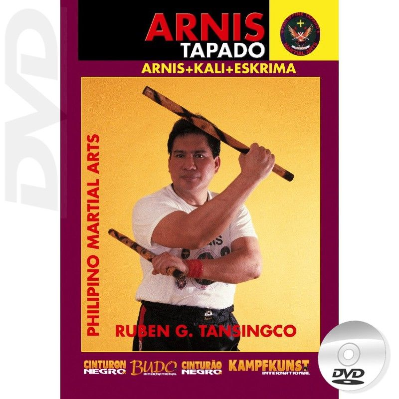 Arnis Tapado Double Stick DVD by Ruben Tansingco