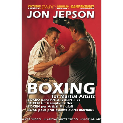 Boxing for Martial Artists DVD by Jon Jepson - Budovideos