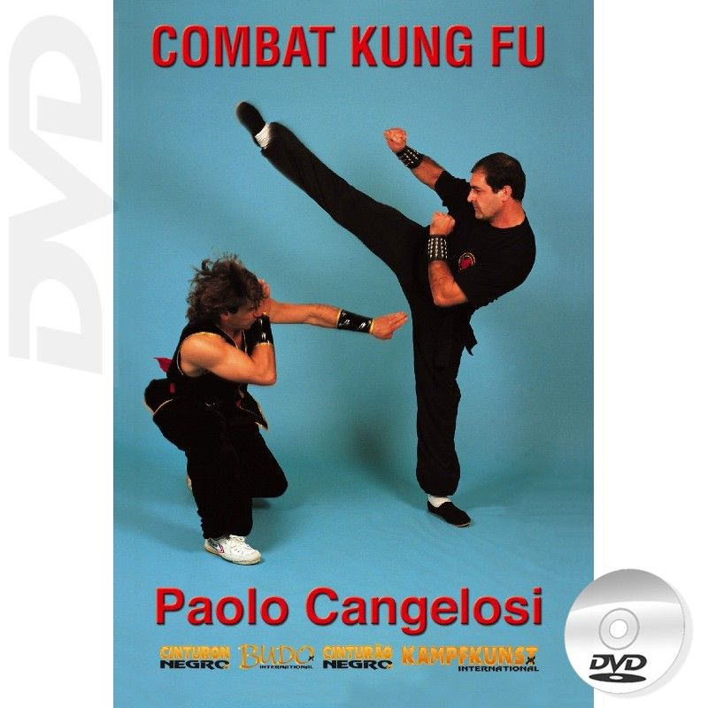 Combat Kung Fu Free Style DVD by Paolo Cangelosi - Budovideos