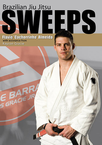 BJJ Sweeps DVD by Flavio Almeida - Budovideos