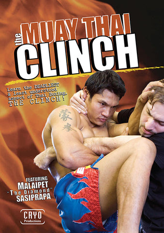 Muay Thai Clinch DVD with Malaipet
