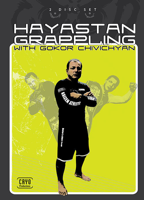 Hayastan Grappling 2 DVD Set by Gokor Chivichyan Cover 7