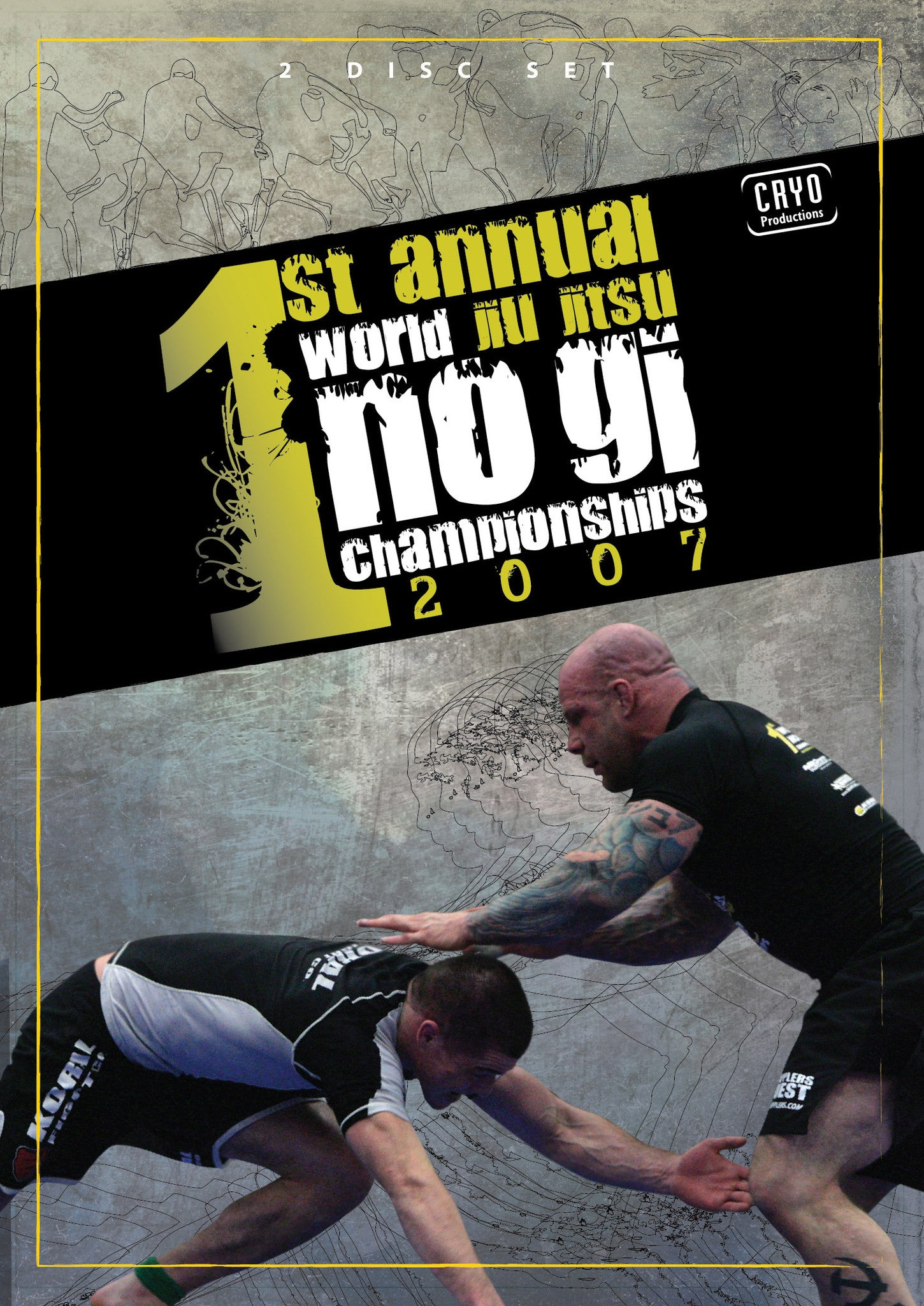 2007 No Gi World Championships 2 DVD Set - Budovideos