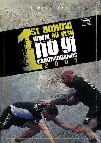 2007 No Gi World Championships 2 DVD Set - Budovideos Inc