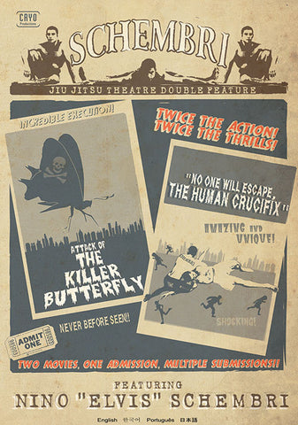 Killer Butterfly & Human Crucifix 3 DVD Set by Nino Schembri - Budovideos