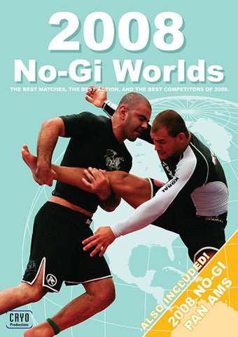 2008 No Gi Worlds & No Gi Pan 3 DVD Set - Budovideos