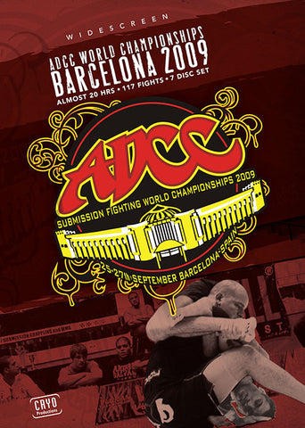 ADCC 2009 Complete 7 DVD Set - Budovideos Inc