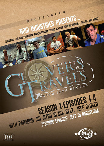 Glovers Travels Season 1 DVD with Jeff Glover - Budovideos