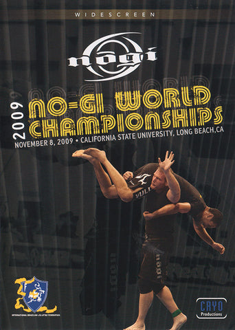 2009 No Gi World Championships 2 DVD Set - Budovideos Inc