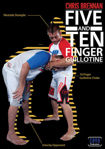 5 & 10 Finger Guillotines DVD with Chris Brennan - Budovideos Inc