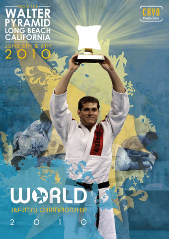 2010 Jiu-jitsu World Championships Complete 4 DVD Set cover 7