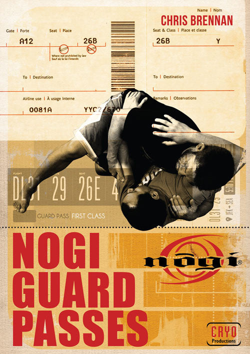 Nogi Guard Passes DVD with Chris Brennan - Budovideos