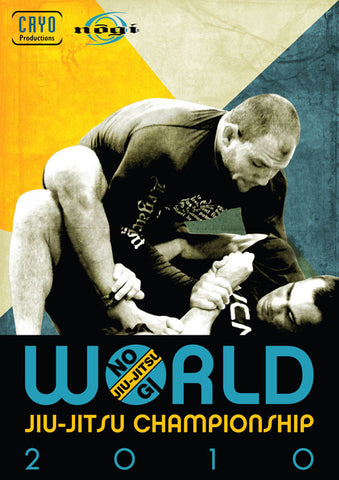 2010 No Gi World Championships 2 DVD Set