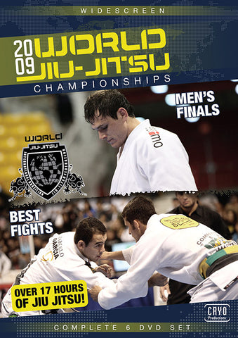 2009 Jiu-jitsu World Championships Complete 6 DVD Set
