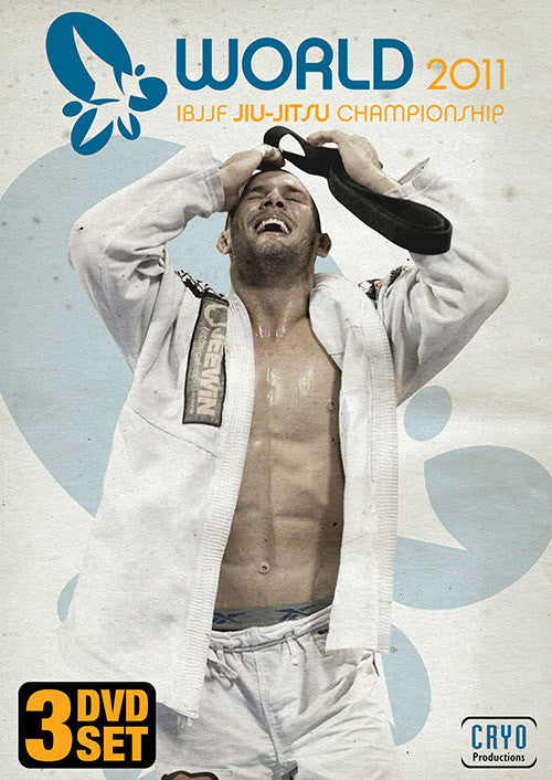 2011 Jiu-jitsu World Championships Complete 4 DVD Set 1