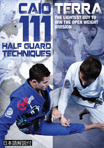 111 Half Guard Techniques 3 DVD Set with Caio Terra - Budovideos Inc