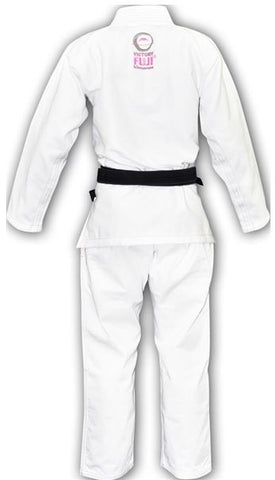 Women's Pink Blossom BJJ GI by Fuji - Budovideos