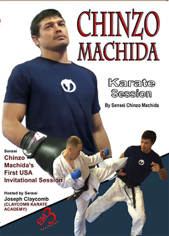 Cover - Chinzo Machida Karate Session DVD 1