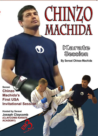 Chinzo Machida Karate Session DVD - Budovideos