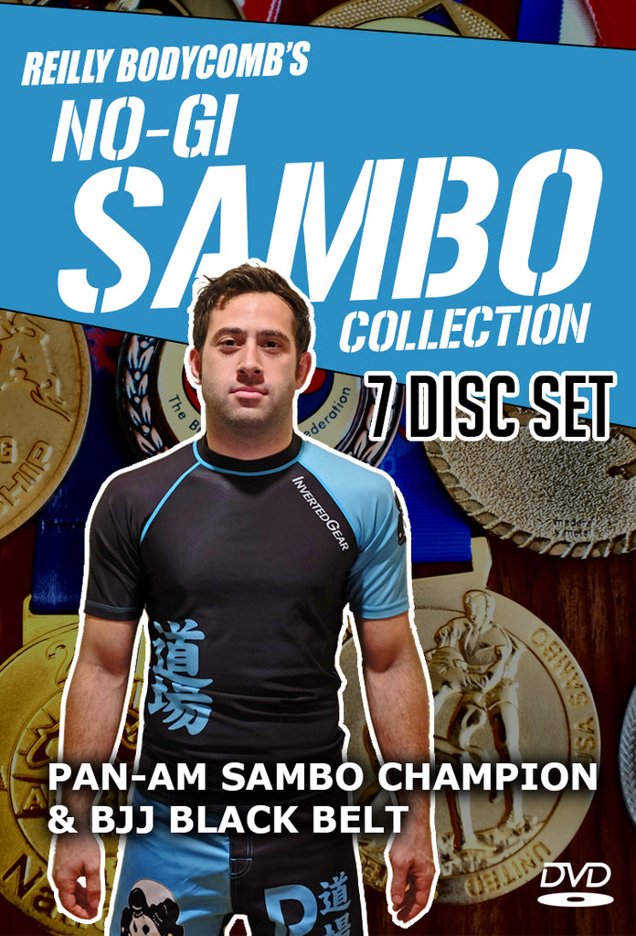 Reilly Bodycomb's No-Gi Sambo Collection 7 DVD Set