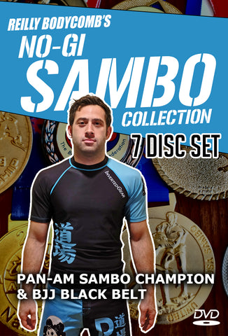 Reilly Bodycomb's No-Gi Sambo Collection 7 DVD Set - Budovideos Inc