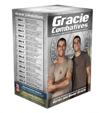 Gracie Combatives 13 DVD Set by Gracie Academy