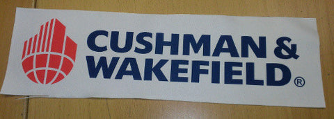 Cushman & Wakefield Custom Patch 12