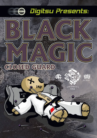 Black Magic Closed Guard DVD by Dan Covel - Budovideos