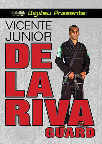 De la Riva Guard DVD by Vicente Jr