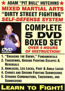 Dirty Street Fighting 5 DVD Set with Adam Hutchins - Budovideos