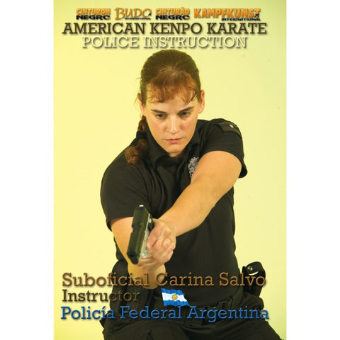 American Kenpo Karate Police Instruction DVD by Carina Salvo - Budovideos