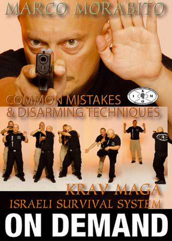 Krav Maga Israeli Survival System Disarming Techniques with Marco Morabito (On Demand) - Budovideos