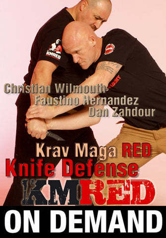 Krav Maga RED 3: Knife Defense with Christian Wilmouth (On Demand) - Budovideos