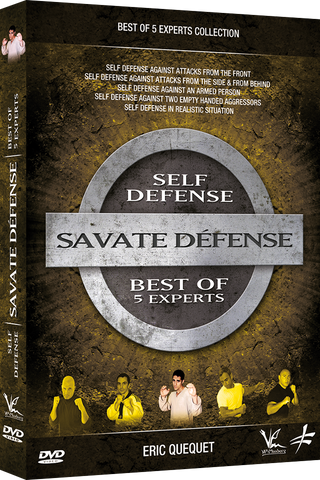 Best of Savate Defense DVD by Eric Quequet - Budovideos Inc