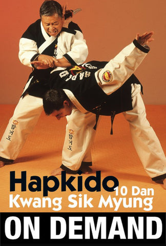 Hapkido WHF by Kwang Sik Myung (On Demand) - Budovideos