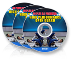 High Performance Open Guard 3 DVD Set by Stephen Whittier - Budovideos