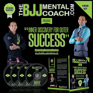 Inner Discovery for Outer Success 4 DVD Set by BJJ Mental Coach Gustavo Dantas