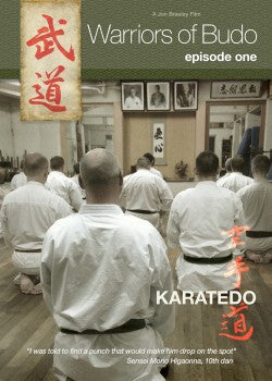 Warriors of Budo DVD: Episode One: Karate - Budovideos