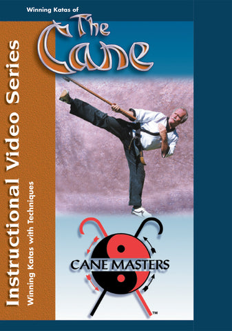 The Cane Master's Winning Katas & Techniques DVD by Mark Shuey Sr (Preowned) - Budovideos