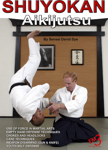 cover of Shuyokan Aikijutsu DVD by David Dye 1