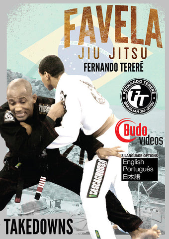 Favela Jiu Jitsu Vol 9 Takedowns by Fernando Terere DVD