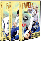 Featured - Fernando Terere - Favela Jiu Jitsu Guard Passing 3 DVD Box Set