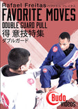 Rafael Freitas Favorite Moves: Double Guard Pull DVD - Budovideos